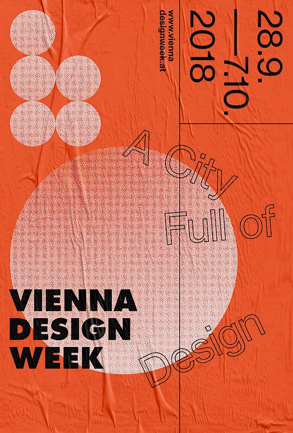 Vienna Design Week, 2018, Kommunikation, Design: Bueronardin