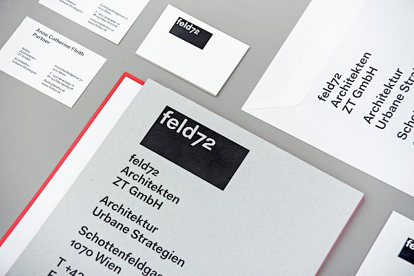 feld72 Architects, Identity, Design: Bueronardin