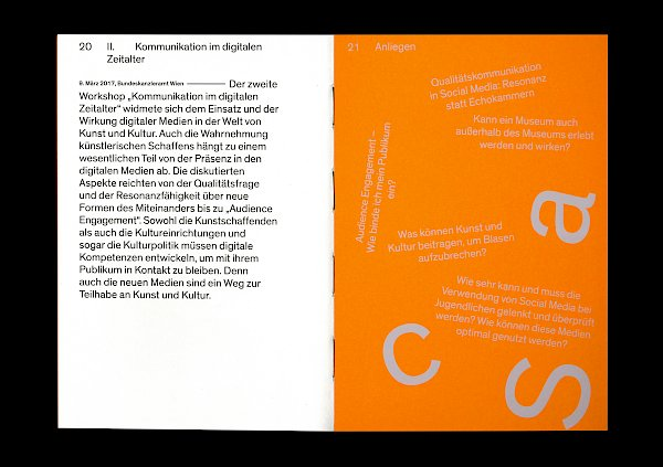 Bundeskanzleramt, Open Space, Editorial, Design: Bueronardin